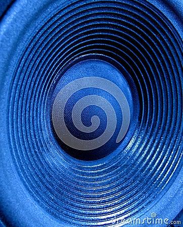 Blue Woofer