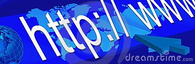 Blue world banner 3