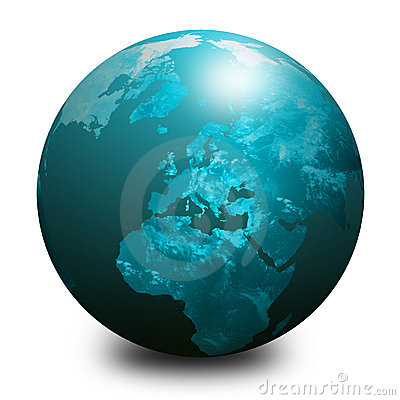 blue world globe 1