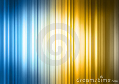 Blue Yellow Striped Spectrum