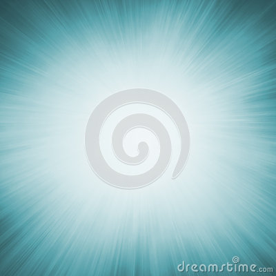 Free Blue Zoom Blur Background With White Center And Radial Sunshine Rays Stock Images - 59086444