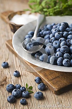 Free Blueberries Royalty Free Stock Photo - 20302435