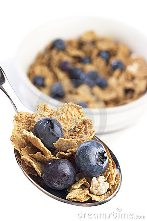 Free Blueberry Breakfast Cereal Royalty Free Stock Images - 2076529