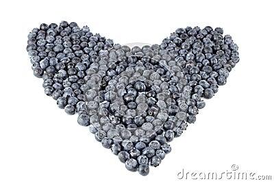 Blueberry Heart Organic