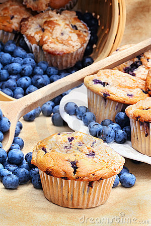 Free Blueberry Muffins Stock Photos - 15253243