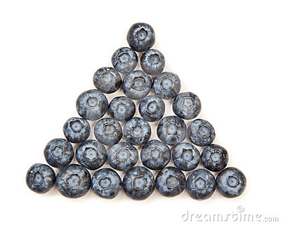 Blueberry Pyramid