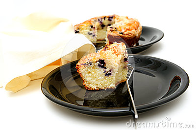 Blueberry Ring Cake