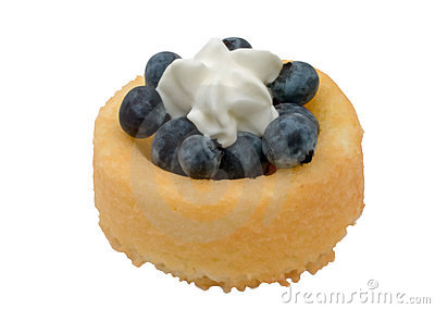 Blueberry ShortCake and Cream