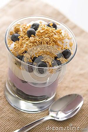 Blueberry Yogurt Parfait
