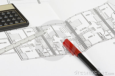 Blueprint Details Royalty Free Stock Photos Image 1899718