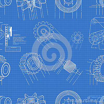 Blueprint gears seamless
