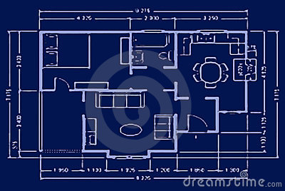 Blueprint - house plan