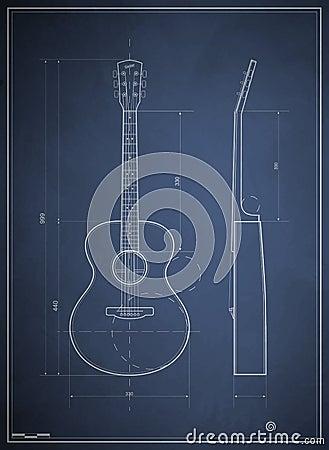 Blueprint six-acoustic guitar