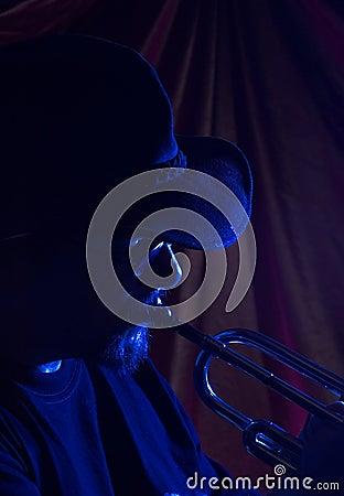 Blues musician