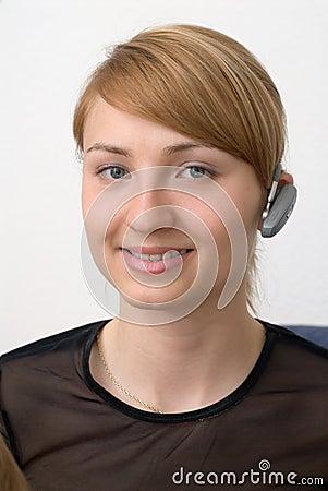Bluetooth girl