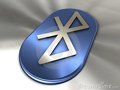 Bluetooth symbol Editorial Photo
