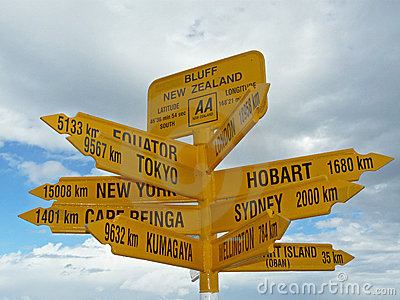 Bluff point, New Zealand
