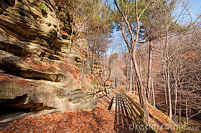 Bluff Trail in the late fall