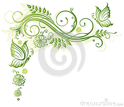 Blumen, Frühling, Schmetterlinge