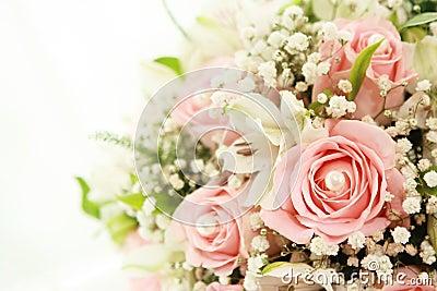 Blumenstrauß der Hochzeit