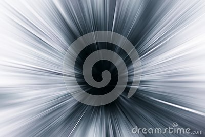 Blur Motion Speed Zoom effect abstract Stock Photo