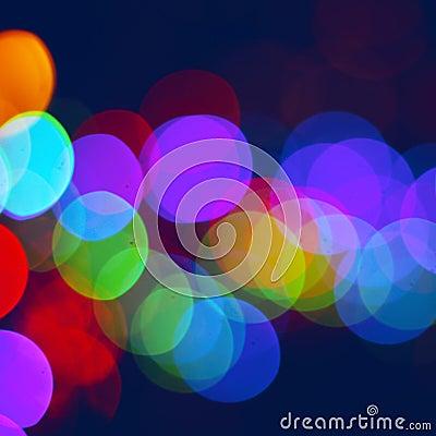 Free Blured City Lights Stock Photo - 53579620