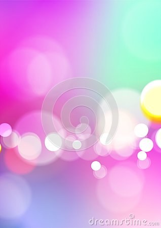 Free Blurred Abstract Colorful Background With Bokeh Light Stock Photography - 143504962