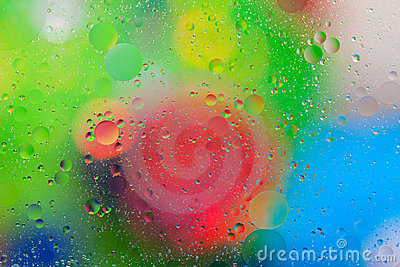 Blurred Bubbles Background