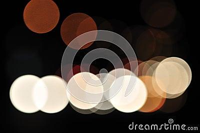 Blurred City Lights 2