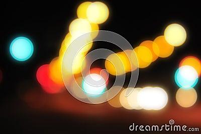 Blurred City Lights 3