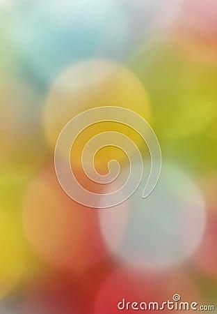 Blurred colorful decoration lights