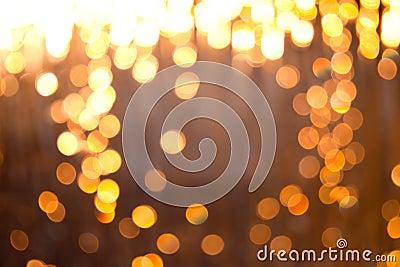 Blurred lights
