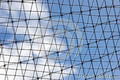Blurred netting
