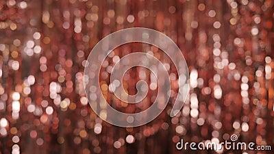 Blurred Red Bokeh Hintergrund für Banner stock video footage