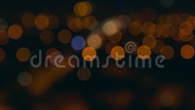 blurry Antena da rua da noite filme
