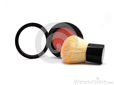 Blush Brush and Blush On,