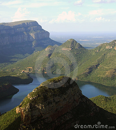 Blyde River Canyon in Africa