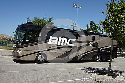 BMC Team Bus 2012 Amgen Tour of California Editorial Photo