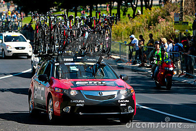 The BMC team car Editorial Image