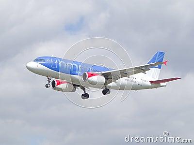 BMI British Midland airlines Editorial Image