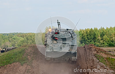 BMP-3 IFV takes the height Editorial Image