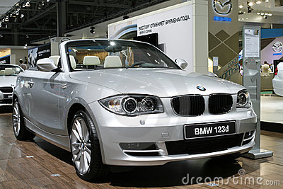 BMW 123d Cabrio Editorial Photo