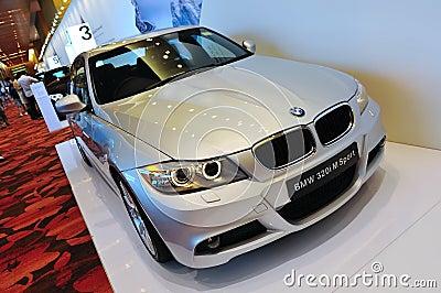 BMW 320i M Sport Sedan Editorial Image