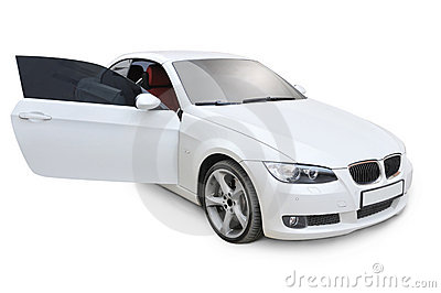 BMW 335i right door open