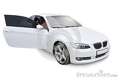 BMW 335i right door open