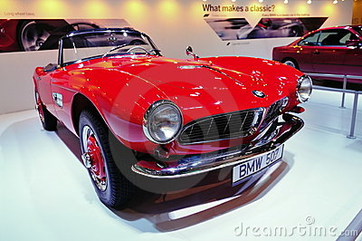 BMW 507 Editorial Image