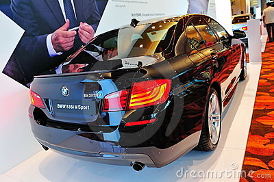 BMW 535i M Sport Sedan Editorial Stock Photo