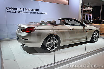 BMW 6 Series Cabriolet Editorial Stock Photo