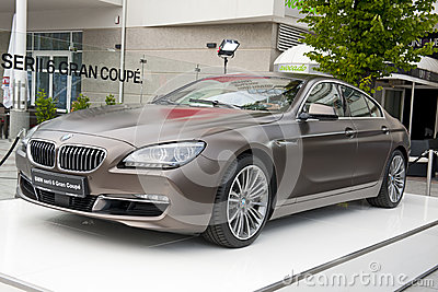 BMW 6 Series Gran Coupe Editorial Photography