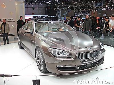 BMW 6er Gran Coupe Editorial Photo